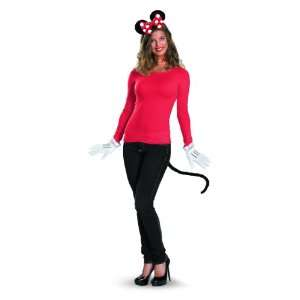 Disney Mickey Mouse Clubhouse Minnie Mouse Kit, Red/White/Black, One
