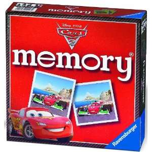 Disney Cars 2 Memory Game Puzzle Toys & Games