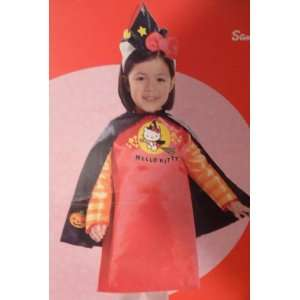 Toddler Girls Hello Kitty Witch Costume