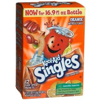 Kool Aid Singles Cherry (for 16.9 Ounce Bottles), 12 Count Packets