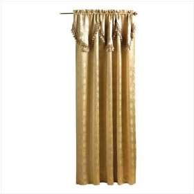 Tasseled Curtain   Royal Gold