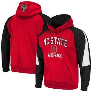 North Carolina State Wolfpack Red Black Playmaker Pullover