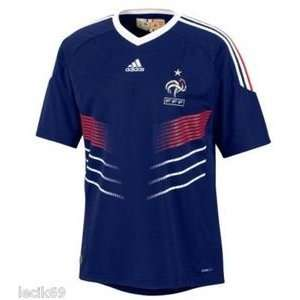 Home Jersey World Cup Mens Top L   Adidas France Home Jersey World Cup