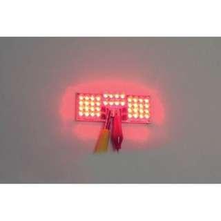 RED LED Fender Tip For Harley Davidson Touring / Heritage