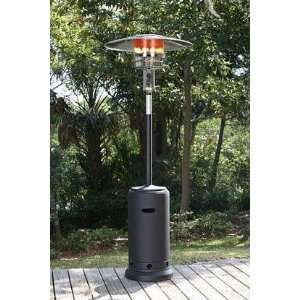 Fire Sense Fire Sense Black Powder Coated Standard Patio Heater Patio