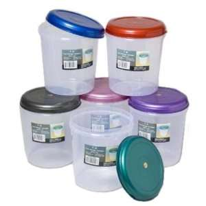 Round 3 Quart Food Storage Container Case Pack 48 Home & Kitchen