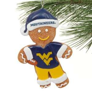 Mountaineers Gingerbread Football Player Ornament: Sports & Outdoors