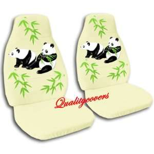 cream Panda bear car seat covers, for a 2004 Ford Focus Automotive