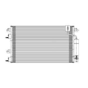 Ford Focus Replacement AC Condenser With Manual Transmission