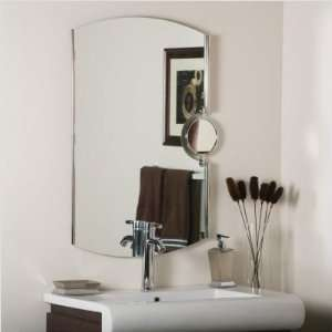 Contemporary Arched Frameless Wall Mirror