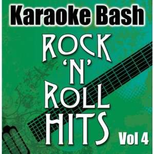 Karaoke Bash RocknRoll Hits Vol 4 Starlite Karaoke Music