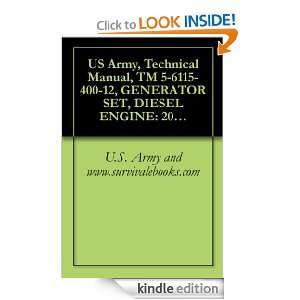 US Army, Technical Manual, TM 5 6115 400 12, GENERATOR SET, DIESEL