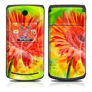 Gerbera Flower Design Protective Skin Decal Sticker for LG