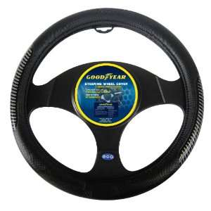 Goodyear GY SWC312 Black Steering Wheel Cover Automotive
