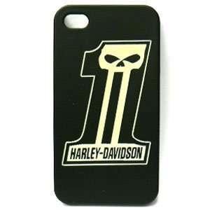 Apple iPhone 4 / 4s Harley Davidson Snap On Case, Dark