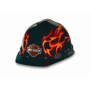 Harley Davidson RHDHHAT10K 1 Each Flames Hard Hat