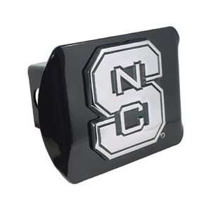 State University Wolfpack Black Trailer Hitch Cover Automotive