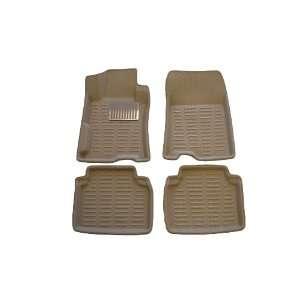 Honda ACCORD Sedan Custom Fit Rubber Floor Mats 08 09 10
