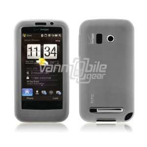 Frosted Milky White Premium Soft Silicone Rubber Skin Case for HTC