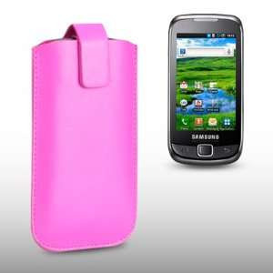 SAMSUNG GALAXY 551 PINK PU LEATHER CASE, BY CELLAPOD CASES