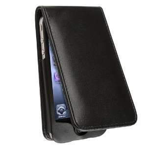 LEATHER FLIP CASE POUCH COVER Compatible With iPhone® 4 4G 4TH iPhone