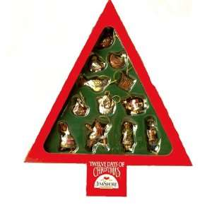 Jim Shore   Heartwood Creek   Twelve Days Of Christmas Ornaments by