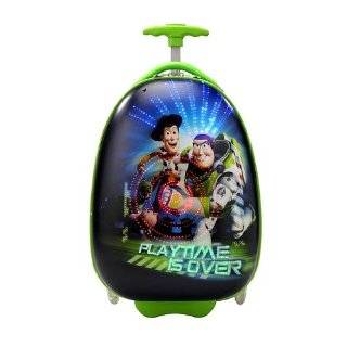 Disney Kids Carry On Luggage with Fiber Optic Lights Cars Tinker Bell