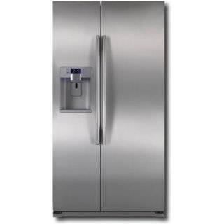 PSDS5YGXSS 24.6 cu.ft. Side by Side Refrigerator   Stainless Steel