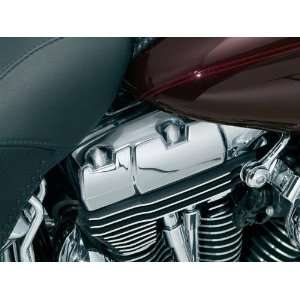 Kuryakyn 8372 Peaked Rocker Box Bolt Covers For Harley Davidson Twin
