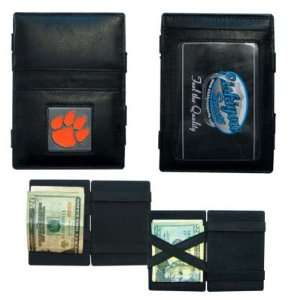 CLEMSON TIGERS OFFICIAL LOGO JACOBS LADDER WALLET