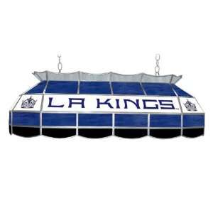 NHL Los Angeles Kings Stained Glass 40 inch Lighting