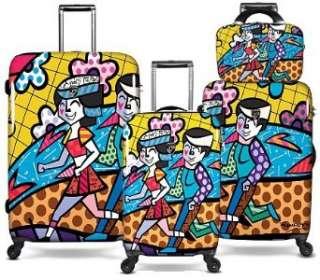 Romero Britto Britto Heys 4 Piece Luggage Set  Clothing