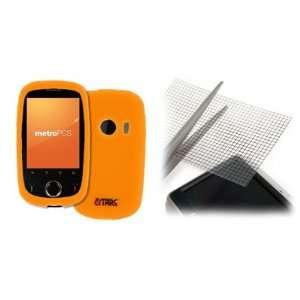 EMPIRE Orange Silicone Skin Case Cover + Universal Screen