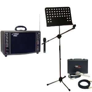 Microphone And Music Note Stand   PPMCL30 30ft. Symmetric Microphone