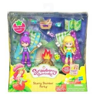 Strawberry Shortcake Mini Figure Two Pack Starry Slumber Party