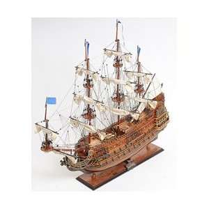 com Old Modern Handicrafts Soleil Royal Model Ship T072 Toys & Games