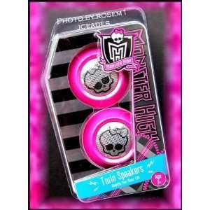 Monster High Twin Speakers Amplify Your Music 10x Toys