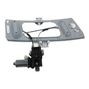 Passenger Side Replacement Power Window Regulator Assembly with Motor