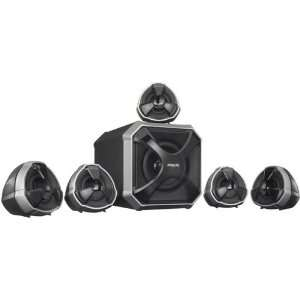 Channels 80 Watts RMS Surround Sound Multimedia Speakers Electronics