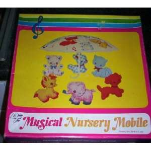 and Nostalgic Musical Nursery Mobile For Baby Room