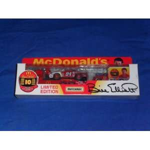 Includes 1/64 diecast car and truck
