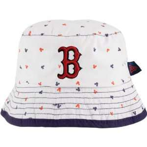 Boston Red Sox Infant White New Era Magical Bucket Hat