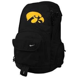 Nike Iowa Hawkeyes Black Fundamentals Fullfare Backpack
