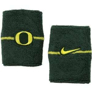 Nike Oregon Ducks Green Game On Wristband: Sports