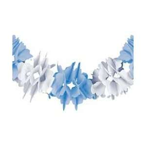 Sweet Bear Blue Baby Shower/Party Decoration   Tissue Garland Baby