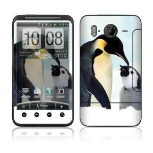 Happy Penguin Decorative Skin Cover Decal Sticker for HTC
