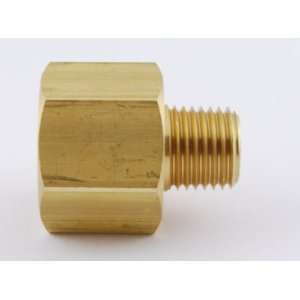 NPT Female to 1/4 NPT Male Brass Pipe Adaptor/Adapter Straight