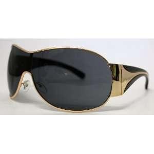 Metal, Black Plastic Fashion Shield 19316 538 3