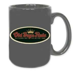 Old Guys Rule Older I Get Gray Coffee Mug Sports & Outdoors