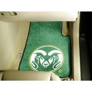 Colorado State Rams NCAA Car Floor Mats (2 Front) Sports